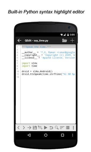 QPython3 – Python3 for Android 1.3.2 screenshots 2