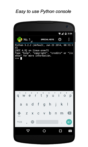 QPython3 – Python3 for Android 1.3.2 screenshots 3