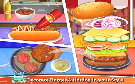 Street Food – Cooking Game for Kids 1.2.1 screenshots 2