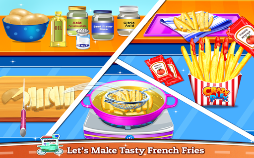 Street Food – Cooking Game for Kids 1.2.1 screenshots 3