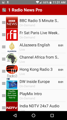 1 Radio News Pro More Features and Shows No Ads screenshots 2