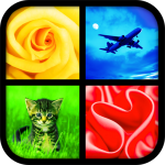 Download Photo Quiz ~ 4 Pics 1 Word 1.6 MOD APK Unlimited Money