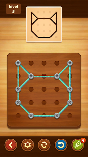Line Puzzle String Art 1.3.11 screenshots 2