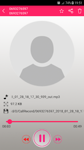 Recording Call 21.357.01 screenshots 2