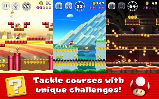 Super Mario Run screenshots 1