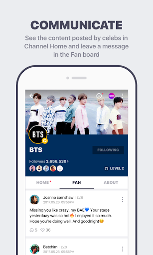 V LIVE – Star Live App 3.4.0 screenshots 4
