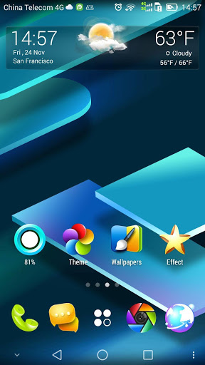 V Launcher- 3D Theme amp HD Wallpaper 2.16 screenshots 1