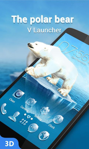 V Launcher- 3D Theme amp HD Wallpaper 2.16 screenshots 3