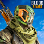 Download Blood Rivals – Survival Battleground FPS Shooter 1.8 MOD APK Unlimited Cash