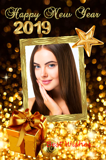 2019 New Year Photo Frames Greeting Wishes 1.0.0 screenshots 1