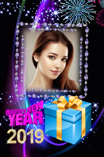 2019 New Year Photo Frames Greeting Wishes 1.0.0 screenshots 2