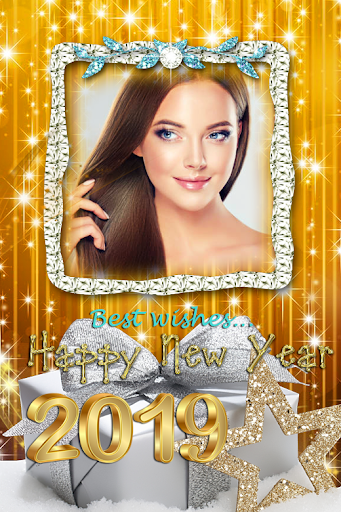 2019 New Year Photo Frames Greeting Wishes 1.0.0 screenshots 3