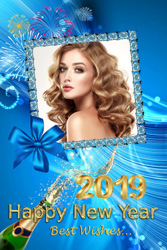 2019 New Year Photo Frames Greeting Wishes 1.0.0 screenshots 4