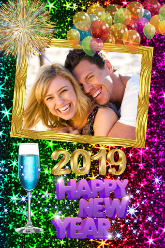2019 New Year Photo Frames Greeting Wishes 1.0.0 screenshots 5