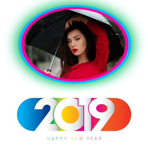 2019 New Year Photo Frames Greetings Wishes 1.7 screenshots 2