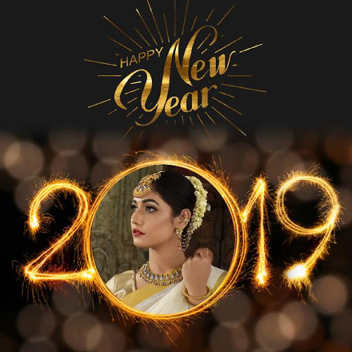 2019 New Year Photo Frames Greetings Wishes 1.7 screenshots 3