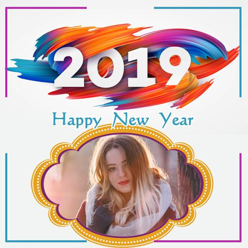 2019 New Year Photo Frames Greetings Wishes 1.7 screenshots 4