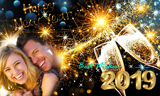 2019 New Year Photo Frames – New Year Wishes 2019 1.0.0 screenshots 3