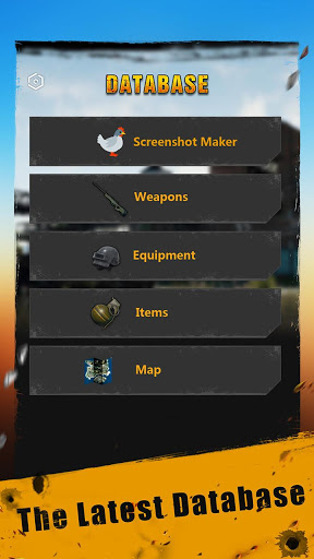 Database amp Tracker for PUBG 1.0.1 screenshots 1