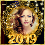 Download 2019 New Year Photo Frames Greeting Wishes 1.0.0 MOD APK Full Unlimited
