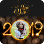 Download Full 2019 New Year Photo Frames Greetings Wishes 1.7 APK MOD Unlimited Gems