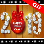 Download New Year GIF 2019 3.0 MOD APK Full Unlimited