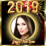 Download New year photo frame 2019 1.1 MOD APK Unlimited Gems
