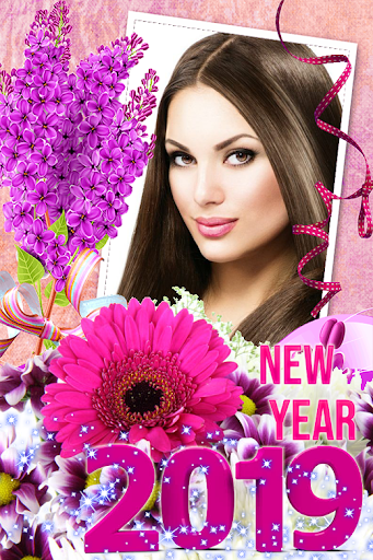 Happy New Year Photo Frame 2019 1.1 screenshots 2