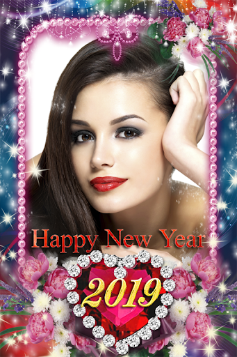 Happy New Year Photo Frame 2019 1.1 screenshots 3