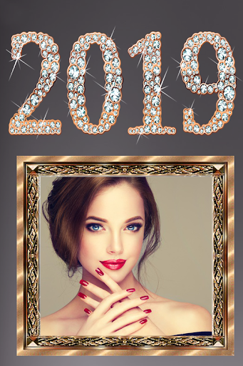 Happy new year photo frame 2019 1.0 screenshots 3