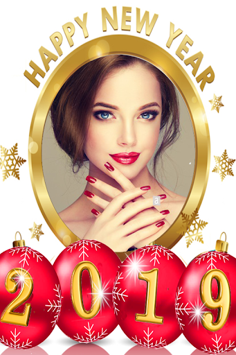 Happy new year photo frame 2019 1.0 screenshots 5