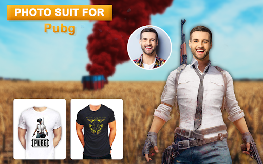 Men amp Woman PUBG Photo Suit PUBG Fan Suit Editor 1.1 screenshots 1