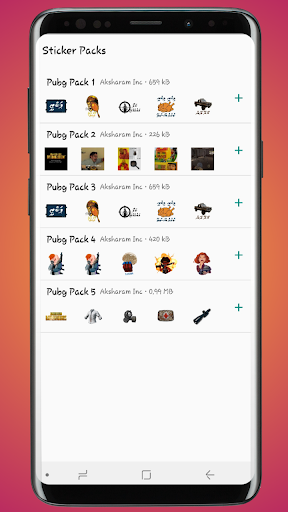 Stickers for PUBG – Sticker Pack for Whatsapp 1.3 screenshots 1