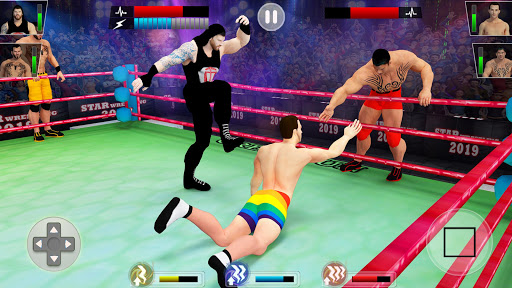 Tag team wrestling 2019 Cage death fighting Stars 1.0.4 screenshots 1