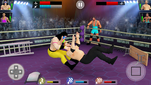 Tag team wrestling 2019 Cage death fighting Stars 1.0.4 screenshots 3
