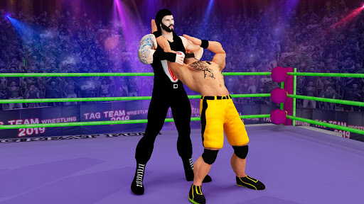 Tag team wrestling 2019 Cage death fighting Stars 1.0.4 screenshots 5