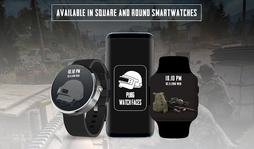 Watchfaces for PUBG – Android Wear OS 1.11 screenshots 2