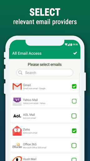 All Email Access with call screening 1.160 screenshots 2