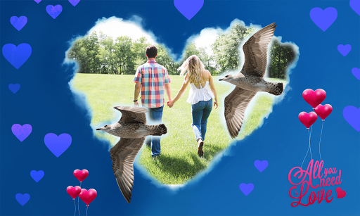 Art Love Frame – romantic amp artistic photo frames 2.1.6 screenshots 1