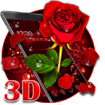 Download 3D valentine love rose theme 1.1.15 APK MOD Full Unlimited