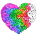 Download Full Valentine Love Glitter Color by Number Book Pages 3.0 APK MOD Full Unlimited