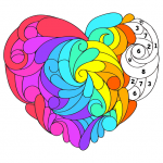 Download Valentine Color by Number – Paint by Numbers Pages 3.2 APK MOD Unlimited Money