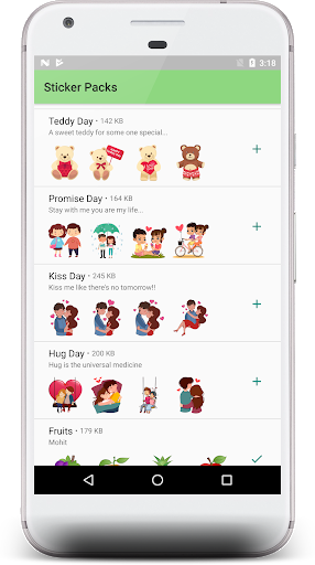 Love stickers packs -2019 1.01 screenshots 2