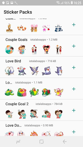 StickTimeWhatsapp Valentines Day Sticker-ADS FREE 0.2-pro screenshots 2