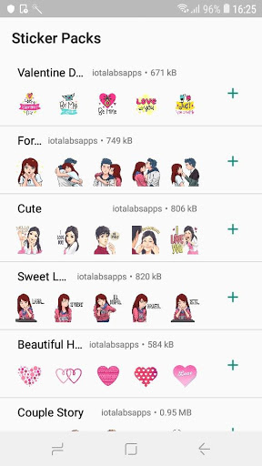 StickTimeWhatsapp Valentines Day Sticker-ADS FREE 0.2-pro screenshots 3