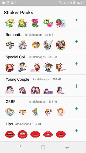 StickTimeWhatsapp Valentines Day Sticker-ADS FREE 0.2-pro screenshots 4