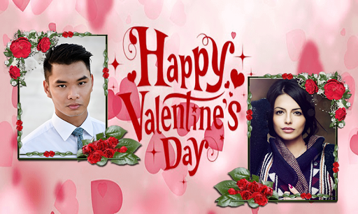 Valentine Day Dual Photo Frame 2019 1.6 screenshots 3