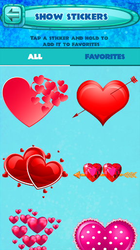 Valentine Day Stickers 1.2 screenshots 4