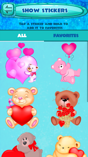 Valentine Day Stickers 1.2 screenshots 5