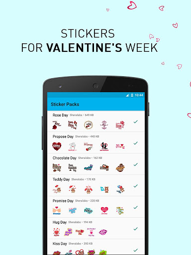 Valentine Days WASticker 1.0.2 screenshots 1